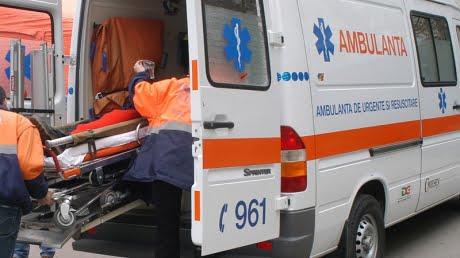 Accident cu victima pe strada Ion Luca Caragiale din Bacau