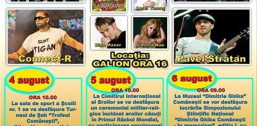 Zilele orasului Comanesti – 4-7 August
