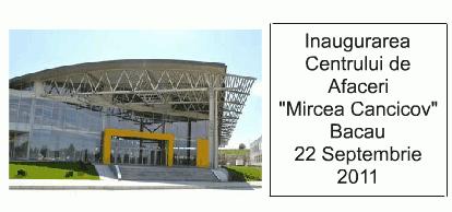 Video: Centrul de Afaceri din Bacau