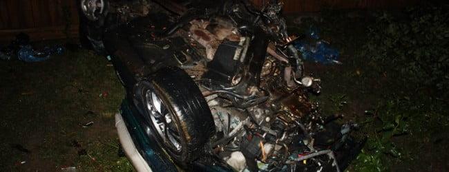 FOTO : Accident la iesire din Buhusi