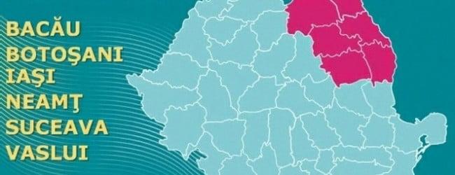 Regiunea Nord-Est, a doua cea mai bogata din tara in ultima varianta a regionalizarii. Bucuresti-Ilfov monopolizeaza primul loc