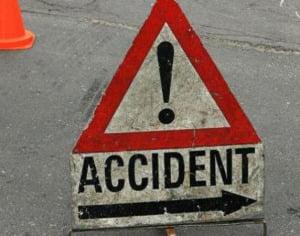 Accident cu doua victime