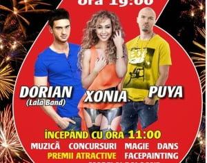 Puya, Dorian Popa(Lala Band) si Xonia, in concert la Hello Shopping Park