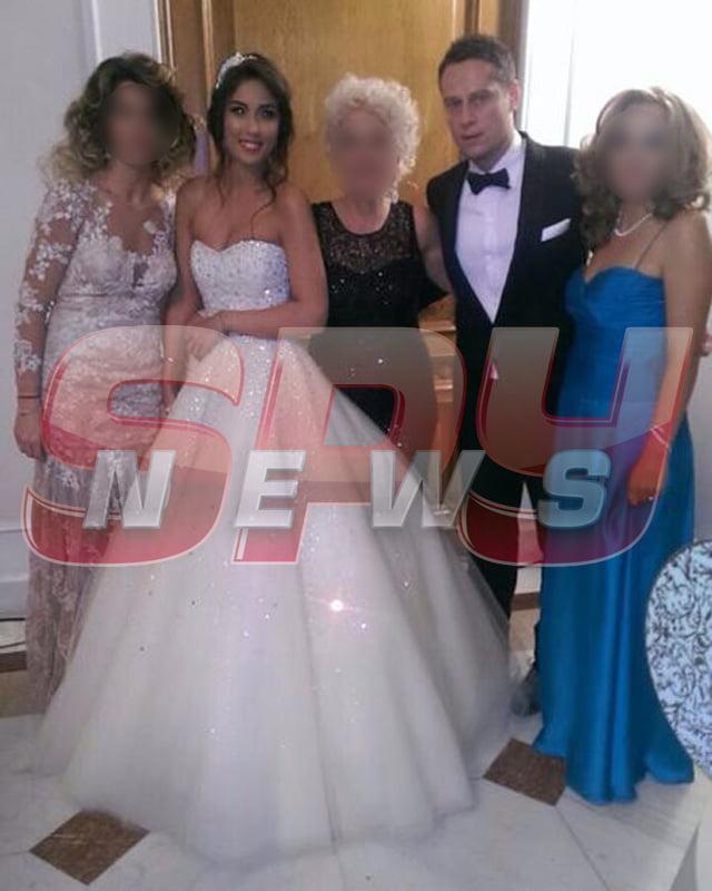 Hrebenciuc Jr a făcut nuntă la palat cu 400 de invitaţi