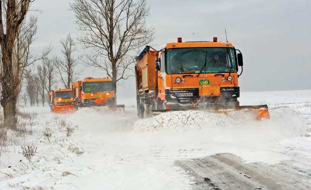 Situatia traficului in Romania. Vezi ce drumuri sunt blocate