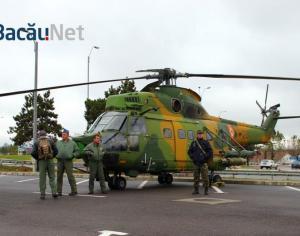 (FOTO) Expo Militar si-a deschis portile. Bacauanii pot vedea armament si tehnica militara apartinand fortelor aeriene si terestre
