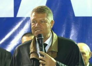 """Klaus Iohannis la Sascut: """"Ați auzit ultima prostie a PSD-iștilor?"""""""