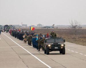 FOTO: Pregătiri pentru Parada militară de 1 Decembrie