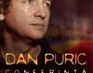"""""""Conferinta despre identitatea romaneasca"""" cu Dan Puric la Casa de Cultura a Sindicatelor din Bacau"""