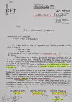 Adresa CET - L DL International - 2009