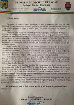 scrisoare romeo stavarache pensionari