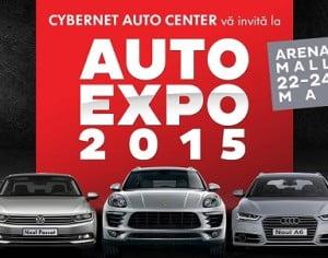 In weekendul 22-24 Mai, Cybernet Auto Center si Arena Mall va invita la  Expozitia Auto 2015