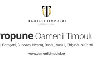 """Campania """"Oamenii Timpului"""" ajunge vineri în Bacău. Vezi în text toate detaliile evenimentului"""