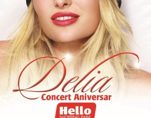 7 ani de cumparaturi, 150 de premii si distractie alaturi de Delia la Hello Shopping Park