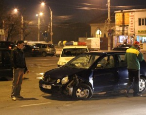 FOTO: Accident pe strada Garii
