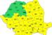Avertizare meteo. Cod galben de ploi și ninsori în județul Bacău