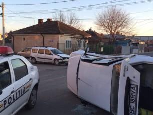 FOTO&VIDEO: Accident pe strada Buciumului
