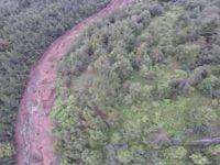 VIDEO: Alunecarea de teren din Comanesti