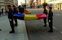 VIDEO:  Ziua drapelului național al României, sarbatorita in Bacau