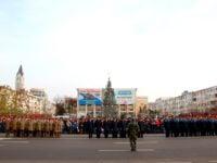 FOTO&VIDEO: Ziua Nationala a Romaniei sarbatorita in centrul Bacaului