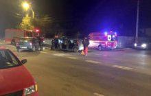 Trei masini implicate intr-un accident pe strada Stefan cel Mare din Bacau