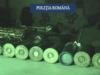 VIDEO: Zece persoane au fost retinute de politistii bacauani pentru contrabanda cu arme si braconaj