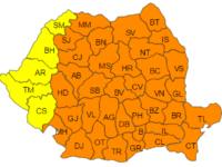 Cod portocaliu de ger in aproape toata Romania! Temperaturile vor atinge -29 de grade