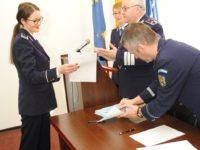 53 de agenti de politie au depus juramantul de credinta la IPJ Bacau
