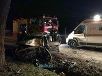 Accident mortal in Buhusi. Un barbat a intrat cu masina intr-un copac