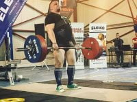 In weekend, a avut loc a 8-a editie a Cupei Triumf la Powerlifting, in Moinesti