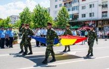 Ziua Drapelului National, sarbatorita in centrul Bacaului