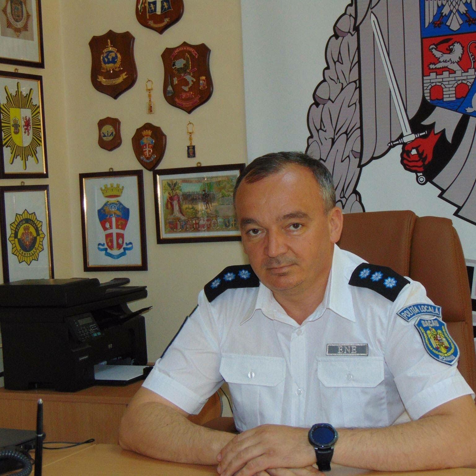 Florin Ene - Seful Politiei Locale Bacau