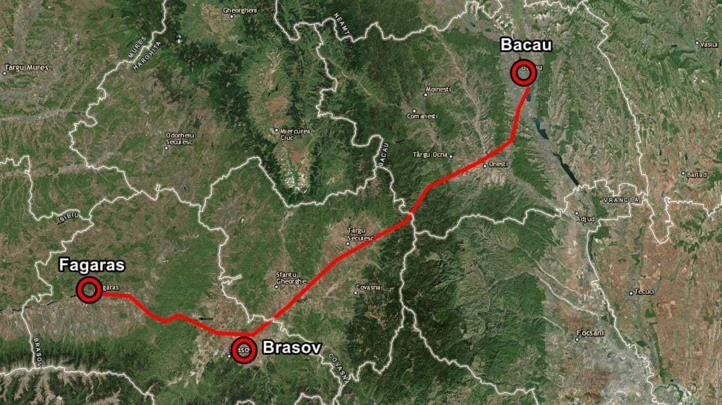 Exclusiv Traseul Complet Al Autostrazii A13 Bacau Brasov Video