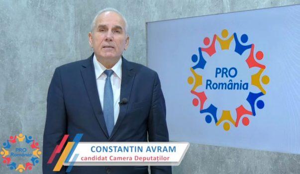Constantin Avram – candidat Camera Deputatilor din Partea Pro Romania